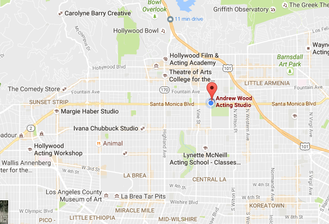 google-map-1122-n-gower-st-hollywood-ca