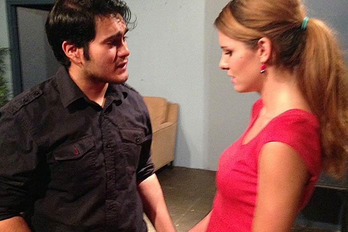 Scene work at Andrew Wood Acting Studio #6
